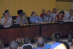 Ulises Guinarte instó a los espirituanos a perfeccionar el sistema de trabajo en aras de ganar en credibilidad entre los afiliados.