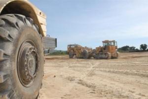 La ejecución de la primera laguna se inició en marzo y debe entrar en uso para fines de año.