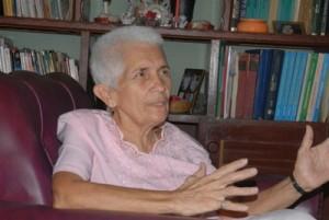 Margarita: Tengo el don de dar ideas, encontrar algoritmos ante situaciones de la vida cotidiana.