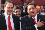El cineasta Oliver Stone y el Presidente de Venezuela Hugo Chávez.