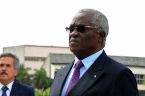 Manuel Pinto Da Costa, presidente de São Tomé y Príncipe.