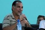 René González durante su intervención en el VIII Congreso de la FEU.