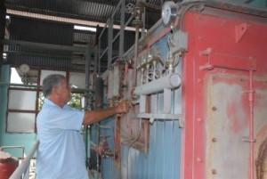 En el proceso de secado no se emplea combustible convencional.