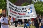 El 1ro. de junio pasado como parte de los Cinco Días por los Cinco hubo un rally ante la Casa Blanca.