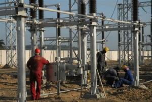 Una de las obras a concluir este año es la subestación de 220 kV que está siendo construida en la zona de Tuinucú, en el municipio espirituano de Taguasco.