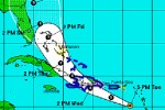 Chantal continúa desplazándose en dirección oeste-noroeste a unos 42 kilómetros por hora.