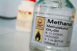 El alcohol metílico, o metanol es muy tóxico para humanos, puede causar ceguera y muerte.