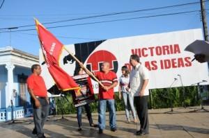 El municipio de Jatibonico recibió la bandera que lo acredita como el más destacado de la provincia espirituana.