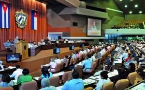 Vista del plenario durante el primer período ordinario de la VIII Legislatura de la Asamblea Nacional del Poder Popular.