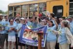 Los caravanistas estarán en Cuba durante casi dos semanas.
