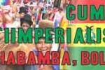 La Cumbre Antiimperialista de Cochabamba se extenderá hasta el próximo viernes.
