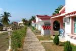 El hotel cuenta con 20 bungalows en la zona de la playa.