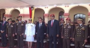 La ceremonia coincidió con el aniversario 202 de la Declaración de Independencia de Venezuela y a cuatro meses exactos del fallecimiento del líder Hugo Chávez.