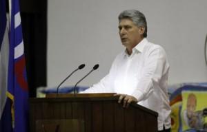 Nuestra prensa tiene como virtud que es incómoda para el imperialismo, expresó Diáz-Canel al clausurar el IX Congreso de la UPEC.