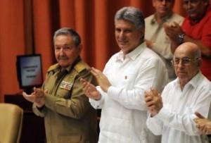 Raúl presidió el primer período de sesiones de la Octava Legislatura de la Asamblea Nacional del Poder Popular.