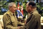 En el encuentro se intercambió sobre los históricos lazos que unen a ambas naciones.