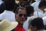 René González estuvo presente en el acto por el 26 de julio en Santiago de Cuba.