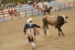 Las actividades de rodeo forman parte del gran espectáculo recreativo.