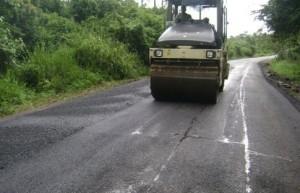 El renovado vial permite acceder a la vecina provincia de Villa Clara por zonas de montañas.