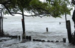 La comunidad costera de Tunas de Zaza resulta muy vulnerable a los embates de la naturaleza.