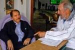 El presidente nicaragüense envió un mensaje de felicitación a Fidel con motivo de su cumpleaños 87.