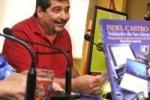 El periodista Iroel Sánchez presentó el texto en el Pabellón Cuba.