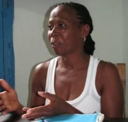 María Escobar Brunet, directora de la Dirección Municipal de Trabajo.