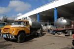 Los carros termos trasladan la leche desde cualquier parte del territorio hacia la industria.