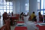 El restaurante 12 Plantas, en la cabecera provincial, es de los centros que se sobregiran en el consumo durante el horario pico.