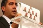 El ministro de Relaciones Interiores, Justicia y Paz, Miguel Rodríguez, presentó las evidencias.