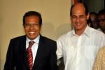 Taur Matan Ruak fue despedido por el vicecanciller cubano Rogelio Sierra.
