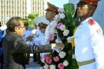 El presidente de Timor Leste rindió homenaje a Martí.