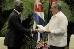El señor Canga cumplimentará además un programa de trabajo en Cuba.