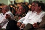 Raúl Castro y otros dirigentes cubanos estuvieron presentes en la gala de homenaje a los Cinco.