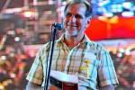 René González, luchador antiterrorista y Héroe de la República de Cuba, intervino al inicio del concierto.