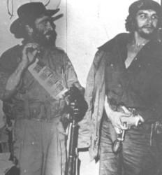 Cuando la toma de Fomento, el Che le devolvió los grados de Comandante a Víctor Bordón.