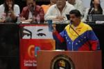 """A mes y medio para los próximos comicios municipales, Maduro señaló que es preciso """"garantizar una victoria abrumadora para que esta burguesía no se atreva más a retarnos""""."""