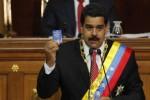 """Maduro clamó por hacer """"irreversible la vía venezolana al socialismo"""" y situó la meta en """"una nueva época republicana""""."""