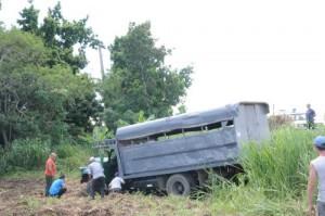 El vehículo había salido de Santa Clara con destino a la ciudad de Sancti Spíritus.