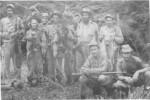 Camilo y algunos de sus hombres por los días del asalto al cuartel de Venegas.