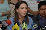La diputada opositora María Corina Machado ha dejado evidencia del plan opositor calcado del que llevó al golpe chileno.