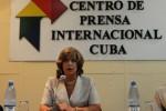 María Esther Reus señaló que del total de sancionados, 143 fueron privados de libertad y a otros 45 se les condenó a trabajo correccional con internamiento.