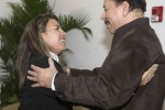 Ortega y Kenia Serrano sostuvieron un amplio diálogo.