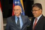 Cancilleres de Paraguay y Venezuela.