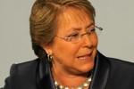 Michelle Bachelet, candidata favorita de las elecciones presidenciales que se celebran este domingo en Chile.