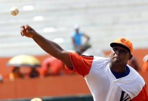 El internacional Freddy Asiel Álvarez lanzó este sábado el juego sin hits ni carreras número 53 en Series Nacionales.