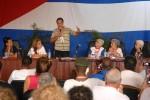 Coloquio dde solidaridad con Los Cinco.