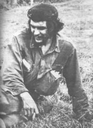 El Che en el Pedrero en los días finales de la epopeya.