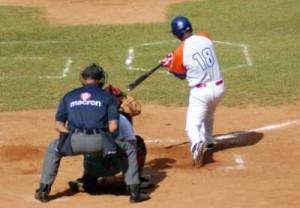Yunier Mendoza fue protagonista a la ofensiva durante la Serie Provincial.