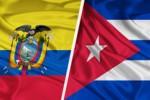 Cuba y Ecuador acordaron profundizar el diálogo político, la cooperación y las relaciones económicas.
